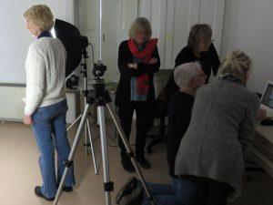 people at workshop